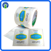High Quality Custom Logo Packaging Label Printing Waterproof Adhesive Plastic Removable Label