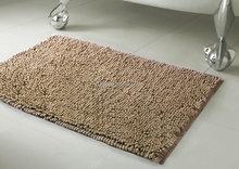 Dust absorption short pile good quality chenille carpet