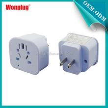 2015 Wonplug universal travel adapter promotional gifts wholesale