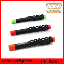 High Intensity White Light 6 LED Flashlight 200 Lumens 6 SMD Magnet LED Flashlight Pen