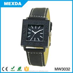 newest retro style black colour smart square watch