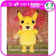 HI CE Japan adult pikachu cartoon mascot costume for activities