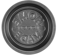 Hard Anodized deep carbon steel non-stick pizza pan pie pan baking pan