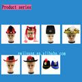 diferentes estilos de la señora de fieltro sombrero loco ideas de la fiesta