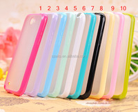 High Quality Ultra Thin Colorful Soft TPU+PC Frame Hard Matte Back Cover Case for Samsung Galaxy Note 2