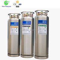 2.0MPa Working Pressure Cryogenic Liquid LAr/LN2/LO2 Cylinder
