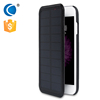 oem china manufacturer solar ultra thin power bank case for iphone 6, external backup battery cell phone covers