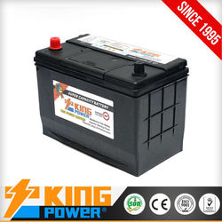 High purity lead auto batteries N70MF King Power 12V70AH Japanese car