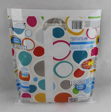 custome printing shopping tote plastic carrier bag