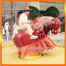 de alta calidad y divertido de atracciones de rodeo toro paseo
