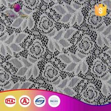 Oem Service Color Solid Lace Polyamide And Elastane Fabric