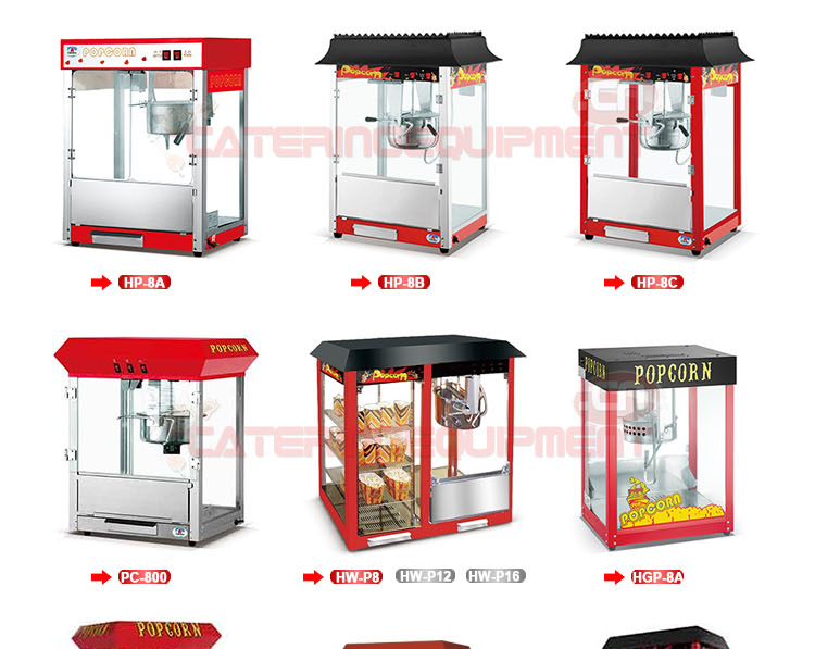 8Oz Commercial Popcorn Machine