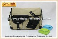 camera bag tripod holder New professional canvas shoulder camera tripod bag for photographer / travel photography enthusiasts