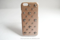 New Design Mobile Phone Case With Metal Stars for Apple Iphone Series