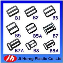 Plastic adjustable strap slide buckle for bag webbing