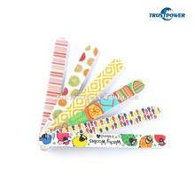 2015 high quality nail file disposable nail file korean custom printed nail file