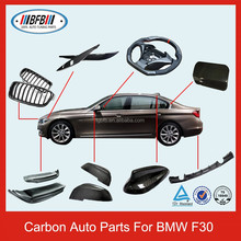 Whole Car Ecterior Accessories Carbon Spoiler Mirror Cover For F30 3 Series 2012