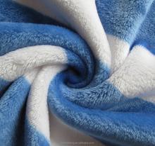 Bright stripe design fabric for bedding