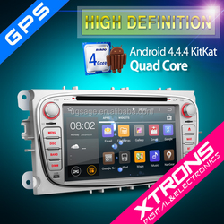 "XTRONS PF72FSFA-S 7"" Android 4.4.4 Kitkat Quad-Core Multi-Touch screen car dvd player with mirrorlink GPS Wifi 3G CANbus"