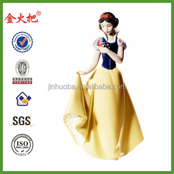 Custom resin snow white for art collections
