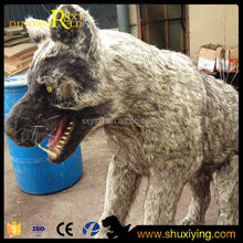 Giant Violent 3d Animatronic Fiberglass Bear King Animal Model