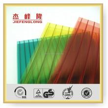 Uv Blocking High Quality Twin-walls Hollow Sheet Pc Sheet Lightweight Roofing Materials