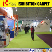 Polyester indor sports exhibition carpet