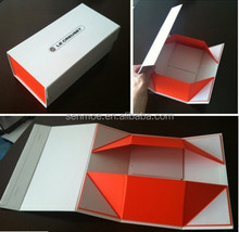Customized magnetic closure packaging foldable boxes cardboad box paper box