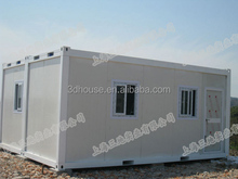 Well-designed prefabricated house &decorative sandwich panel one bedroom small prefab house