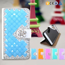 wholeasale alibaba flip diamond bling leather case for samsung galaxy s4 i9500