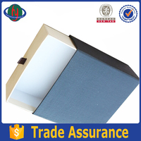 new design & beautiful decorative paper drawing gift boxes