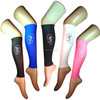 any color dyeing dry fit nylon spandex calf compression sleeve