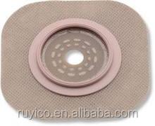 hydrocolloid flange / adaptor for colostomy bag