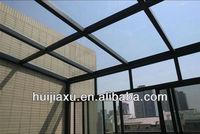 Black Frame Electroforetic Aluminum Veranda Glass House/Sunlight room/Sunrooms