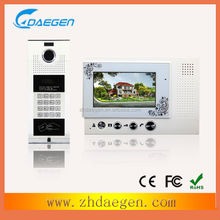 China factory devise new interesting indoor monitor intercom kits
