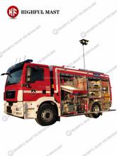 Camión de bomberos torre