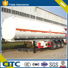 Shandong CITC oil semi trailer/tanker truck/fuel tank truck trailer