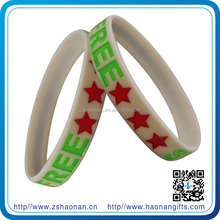 Colorful high quality brand new quality is excellent brand new rubber bracelet