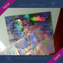 Tile holographic label