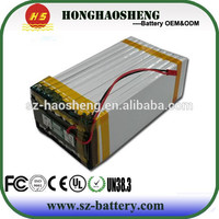 hot sale best price long cycle life rechargeable lipo battery for e-bike