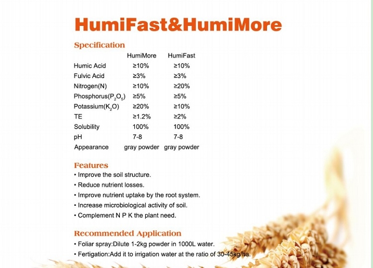 NPK Micronutrients Fertilizer with Humic Acid