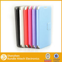 2014 Multicolor leather Flip stand case for samsung galaxy s5