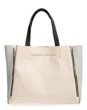 Custom Ladies Leather Tote Bag