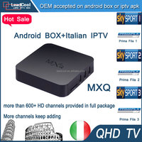 Mxq Android Tv Box Remote Control 4k Tt Tv Box 1G/8G XBMC/Kodi Has 680 Qhdtv Iptv Channels Such As SKY IT/UK/DE Canal+ Beinsport