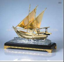 Gold big ship models for best sale