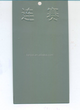 grey high gloss color epoxy powder coating
