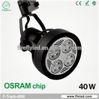 rail spot 2 wires led showroom track lighting for jewelry shop