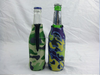 Trade Assurance Supplier Neoprene Beer Bottle Cooler, Can Cooler with Zipper, Beer Bottle Koozie