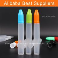 new product Plastic pharmaceutical eye drops bottles with plastic lid