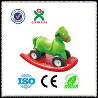 2013 Lovable pony plastic rocking horse/infant rocking horse QX-11129J